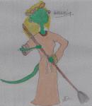 Argonian girl
