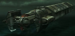 Trandoshan Transport Cruiser
