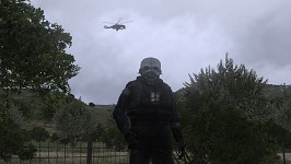 Civil Protection and Hunter Chopper