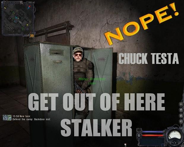 Chuck Testa in S.T.A.L.K.E.R