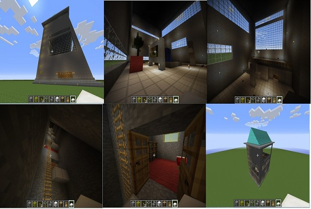 My building/Hotel in Minecraft