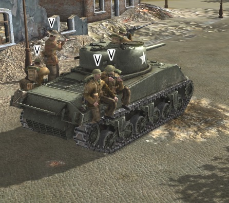 Finally shooting tank raiders! :)