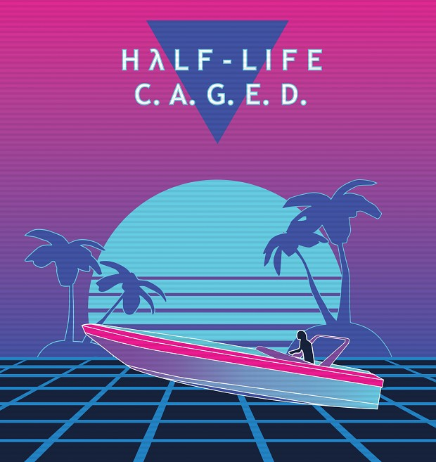 Half-Life: C.A.G.E.D. Synthwave Card