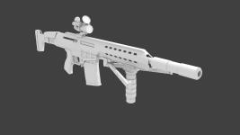 M98b CQB bipod up