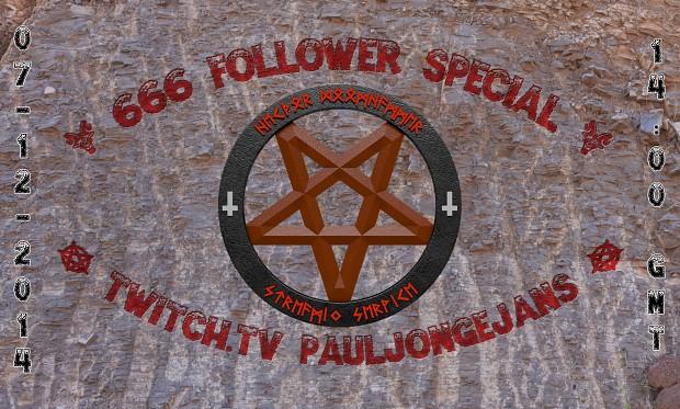 666 Follower Special Livestream
