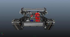 Custom 3D Tank Model