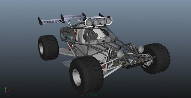 Monster Buggy Rover