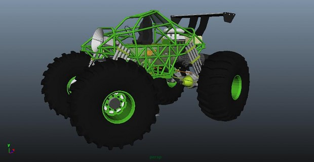 Monster Truck Rover WIP