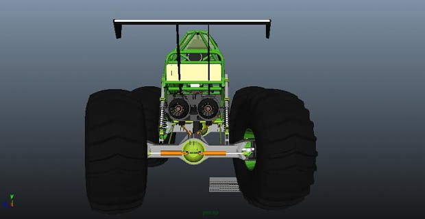 Monster Truck Rover WIP