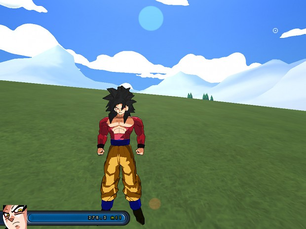 Goku SSJ4 Seperated,Animated + Luffy Attacks Up