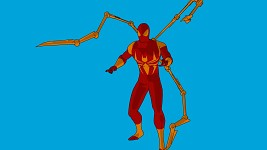 Iron spider man update