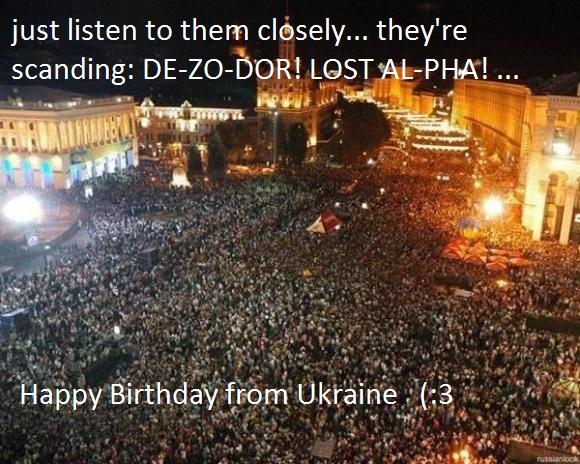 Happy Birthday, Dezodor!