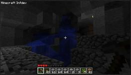 Minecraft - Underground river