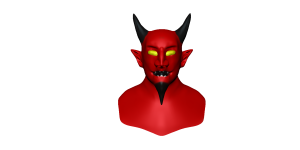 Devil in Mudbox (WIP)