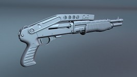 Spas-12 High-poly