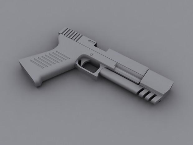 DSOS pistol WIP