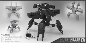 Behemoth assault walker