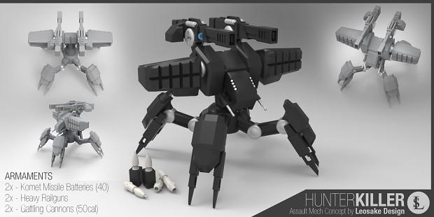 Behemoth assault walker