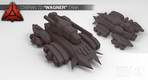 Cybran T2 Wagner Amphibious tank
