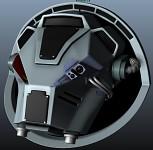 40k Terminator head WIP