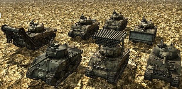 M4A3(W)  Sherman