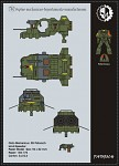 Warhammer 40K – Land Speeder Free Paper Model...