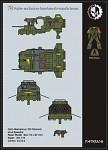 Warhammer 40K – Land Speeder Free Paper Model...