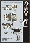 Warhammer 40K – Land Speeder Typhoon Paper Model.