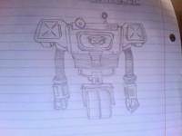 Fallout New Vegas Securitron Sketch