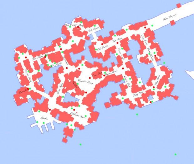 Laketown Map