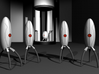 Portal 3D Studio Max Animation Render