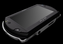 PSP Go 3D Studio Max 2011 Render