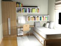 3D Studio Max Bedroom Render