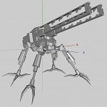 WIP images of various mechs