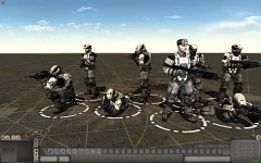 Halo Reach humanskins (Marine Squad)