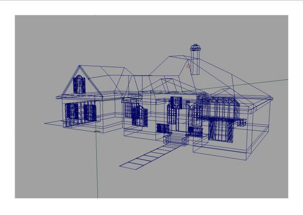 House (Wifreframe)