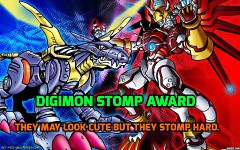 Digimon stomp award