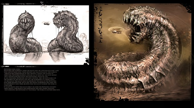 Riftworm from Gears Of War