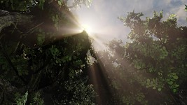 UDK God Rays Test Level