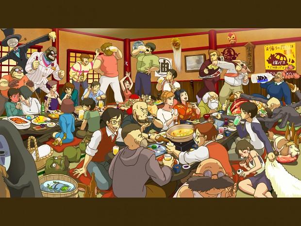 hayao miyazaki!