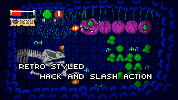 Retro Arcade Adventure Remade - Promotion Screens