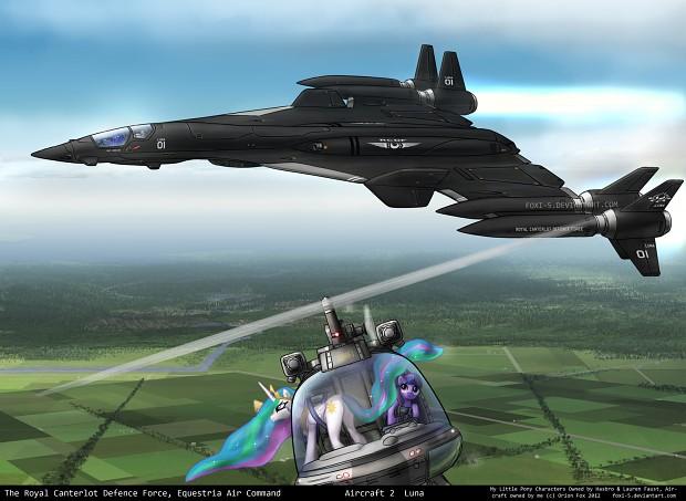 luna's jet