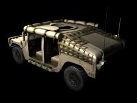 Humvee skin 1 back