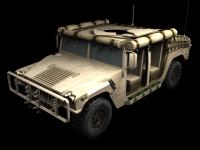 Humvee skin 1 front