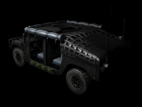 Humvee skin 3 back