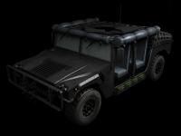 Humvee skin 3 front