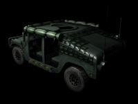 Humvee skin 2 back