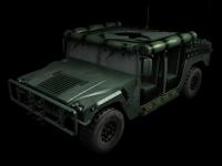 Humvee skin 2 front