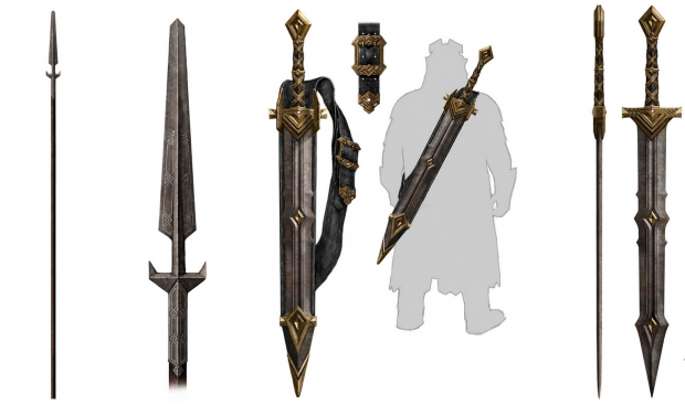 Sword Of Thenew World: Dwarven Weapons- Spear And Two Hand Swords Image