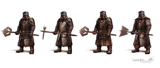 Erebor Light Armor Soldiers
